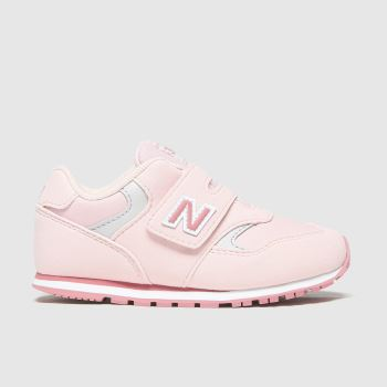New balance Pale Pink 393 2v Girls Toddler