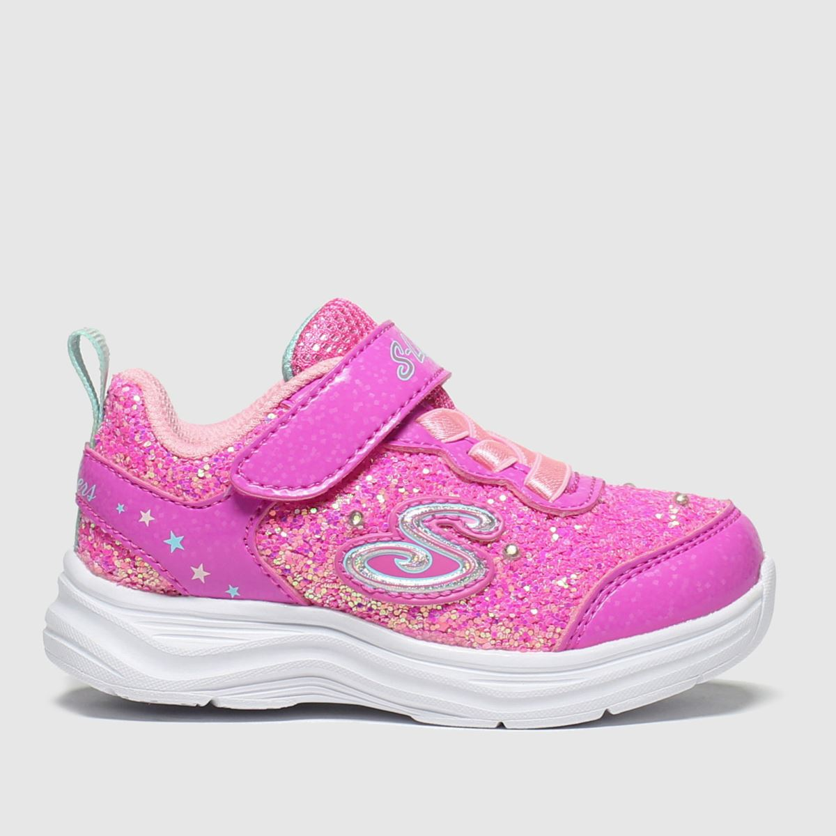 Skechers Pink Glimmer Kicks Trainers Toddler