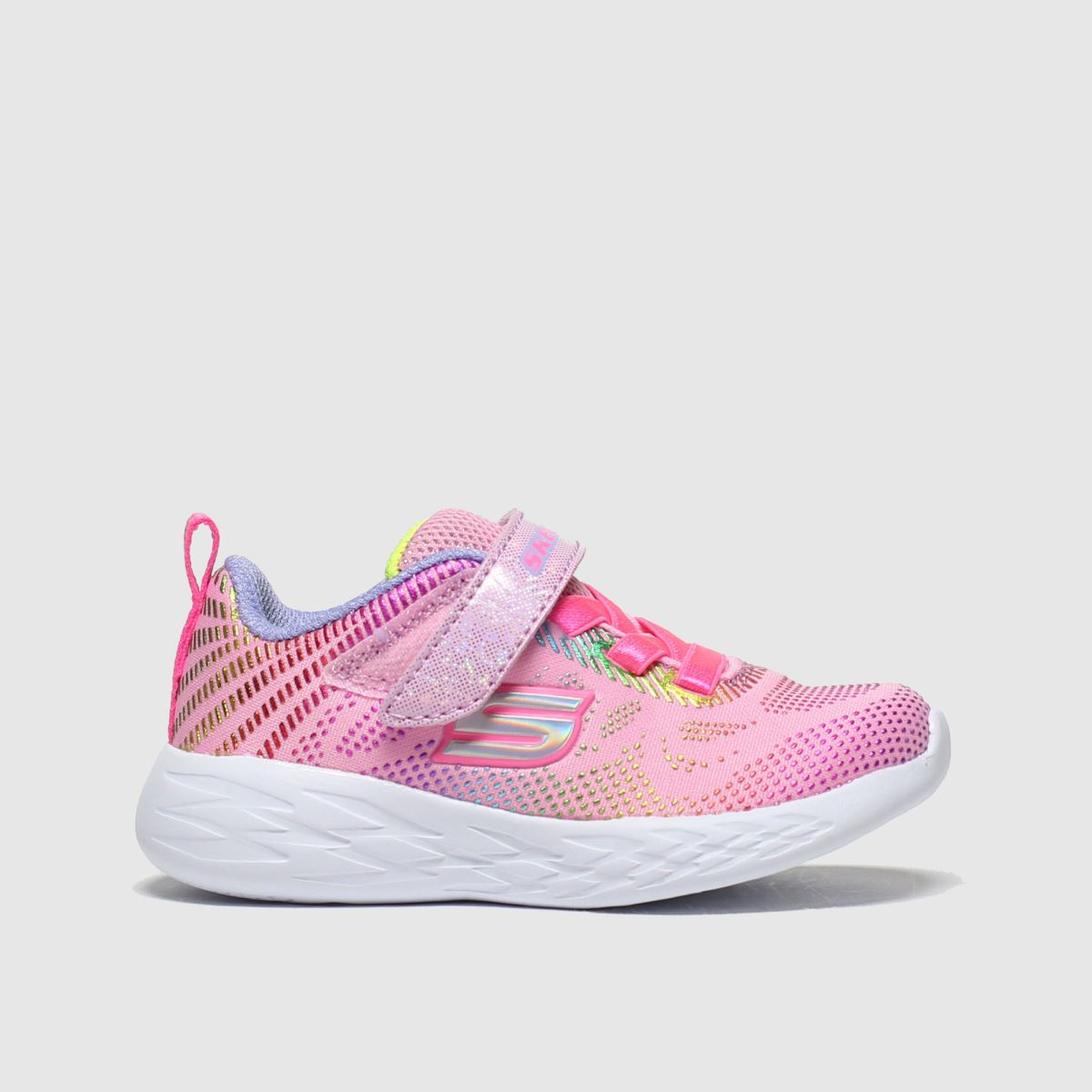 Skechers Pale Pink Go Run 600 Trainers Toddler