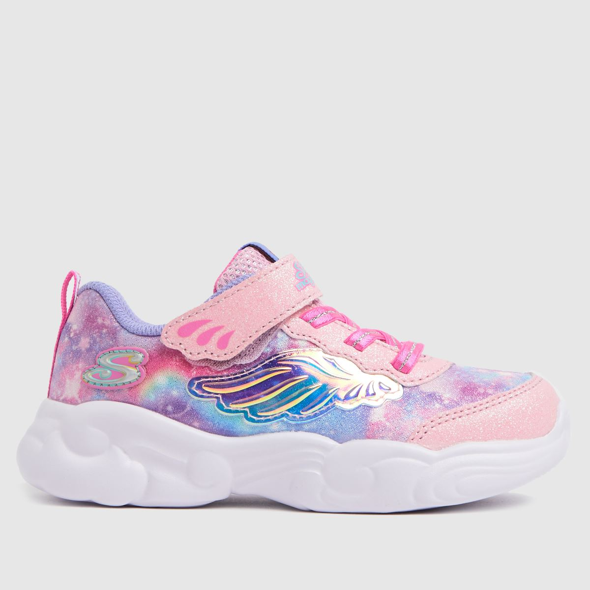 SKECHERS Pale Pink Unicorn Storm Trainers Toddler