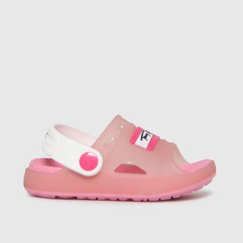 Tommy Hilfiger Pale Pink Comfy Sandal Girls Toddler