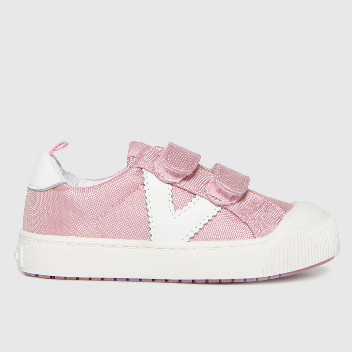 Victoria Pale Pink Huellas Trainer 2v Trainers Toddler