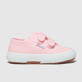 Superga pink 2750 classic 2v trainers toddler