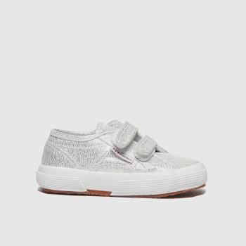 Superga Silver 2750 Lame 2v Girls Toddler