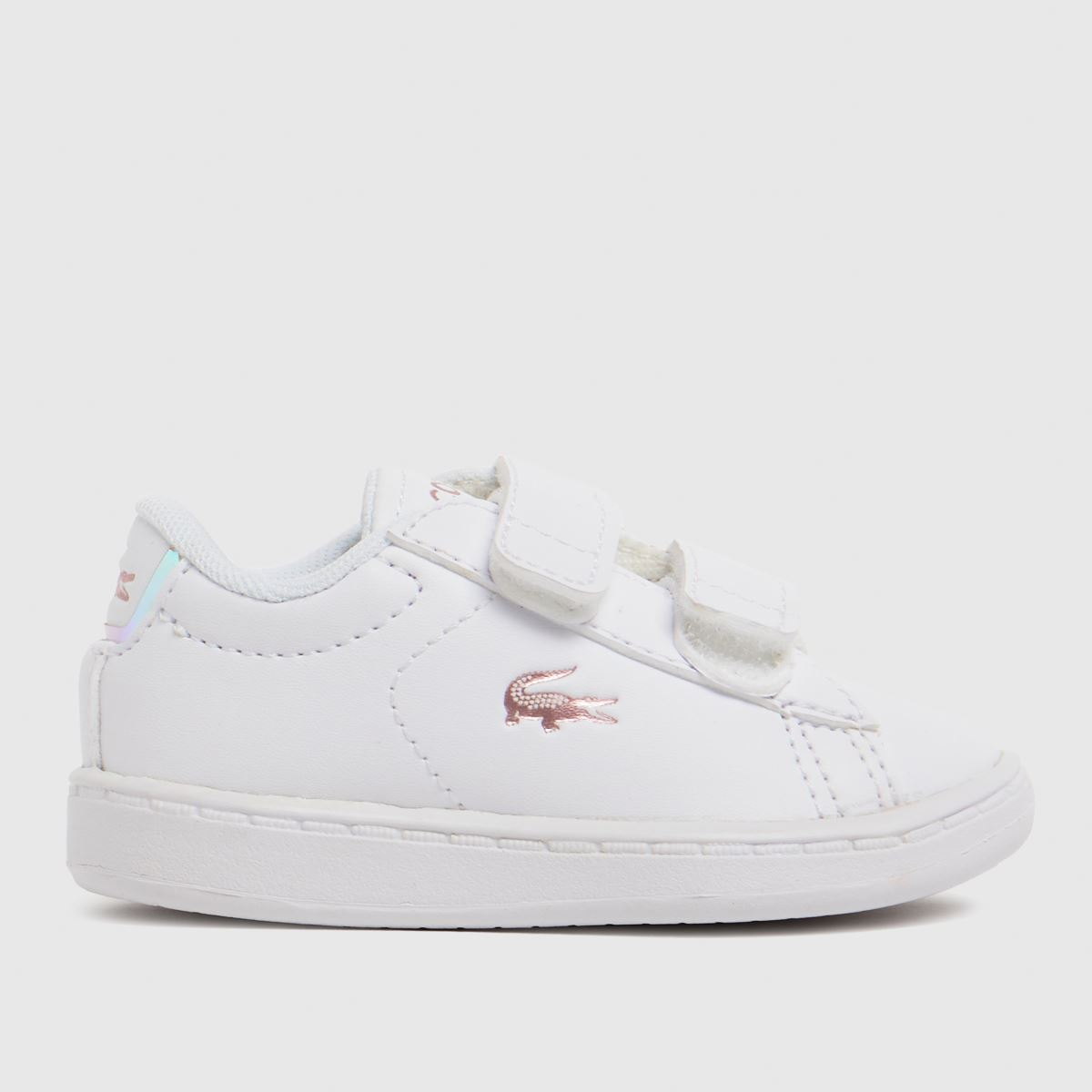 Lacoste White Carnaby Evo Trainers Toddler