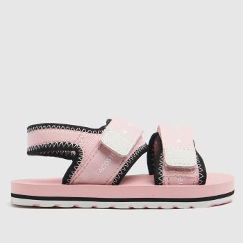 Lacoste Pale Pink Sol Girls Toddler