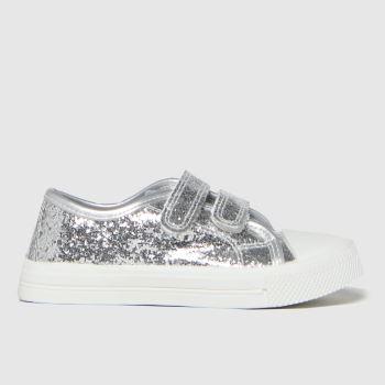 schuh Silver Majestic 2v Glitter Girls Toddler