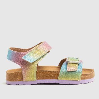 schuh Multi Tropical Rainbow Girls Toddler