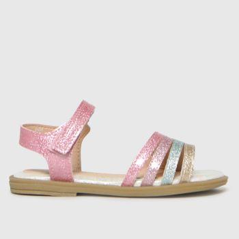 schuh Pink Truth Rainbow Glitter Girls Toddler