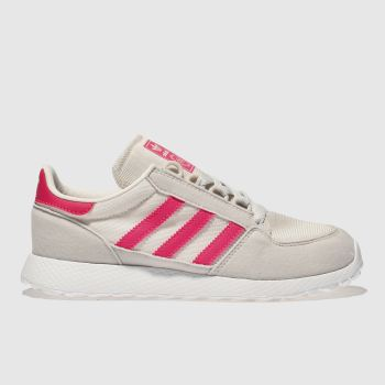 Adidas Stone & Pink Forest Grove Girls Junior