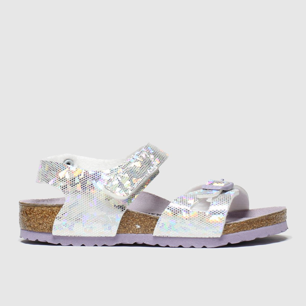 Birkenstock Silver Colorado Trainers Junior