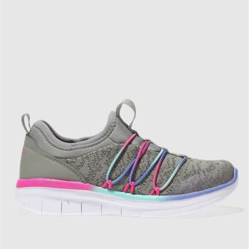 Skechers Grey Synergy 2.0 Girls Junior