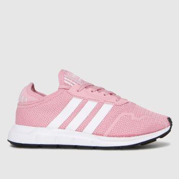 adidas Pink Swift Run X Girls Junior