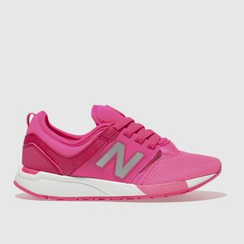 New Balance Pink 247 Girls Junior