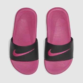 Nike Black Kawa Slide Girls Junior