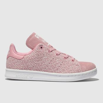 Adidas Pink Stan Smith Girls Junior