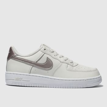 Nike Natural Air Force 1 Girls Junior
