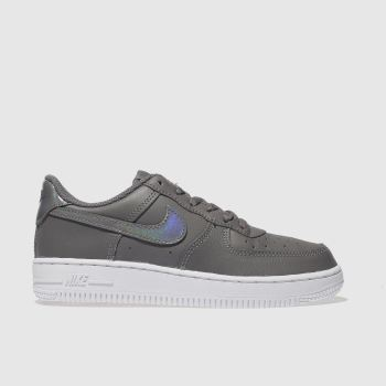Nike Grey AIR FORCE 1 Girls Junior