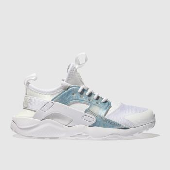 Nike White Huarache Run Ultra Girls Junior