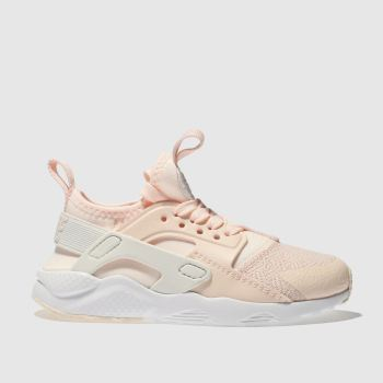 Nike Pink Huarache Run Ultra Girls Junior
