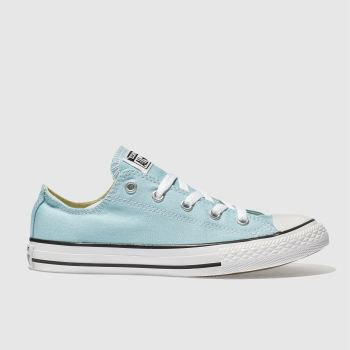 Converse Turquoise All Star Lo Girls Junior
