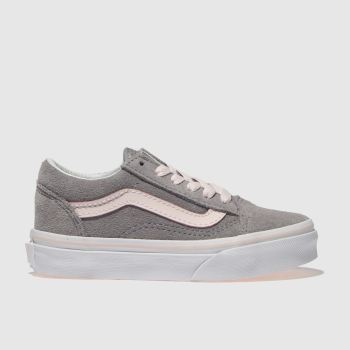 Vans Grey Old Skool Girls Junior
