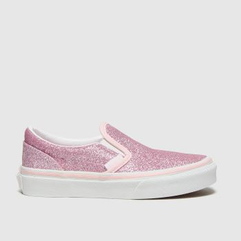 Vans Pale Pink Classic Slip-on Girls Junior