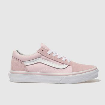 Vans Pink Old Skool Girls Junior