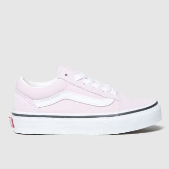 Vans Lilac Old Skool Jnr Girls Junior#