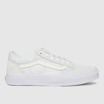 Vans Pale Blue Old Skool Girls Junior