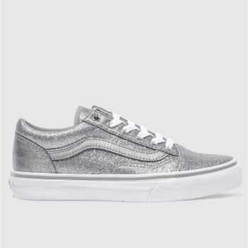 Vans Silver OLD SKOOL Girls Junior