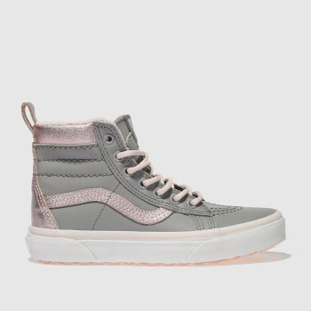 Vans Grey Sk8-Hi Mte Girls Junior