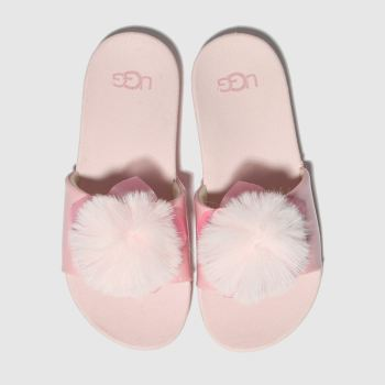 ugg pale pink cactus flower slide sandals junior