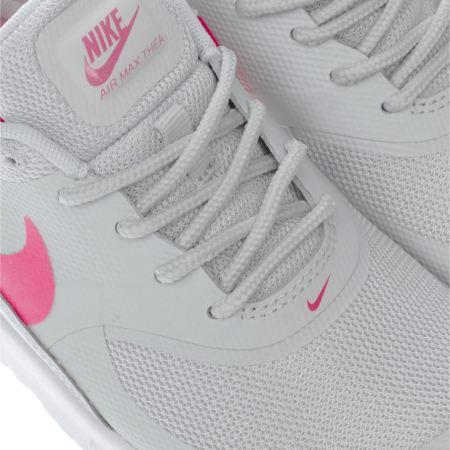 Nike Air Max Thea Junior Grey Pink   nike thea junior