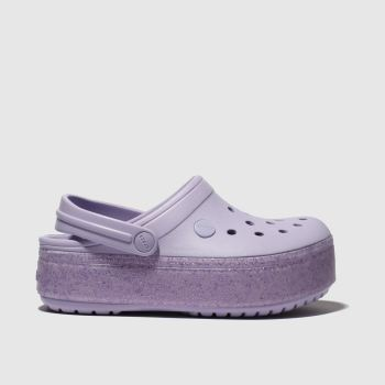 Crocs Lilac Crocband Platform Girls Junior