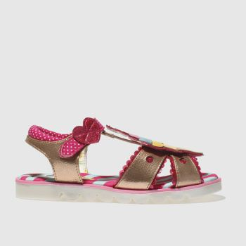 Irregular Choice Gold Cherry On Top Girls Junior