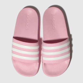 Adidas Pink ADILETTE SHOWER Girls Junior