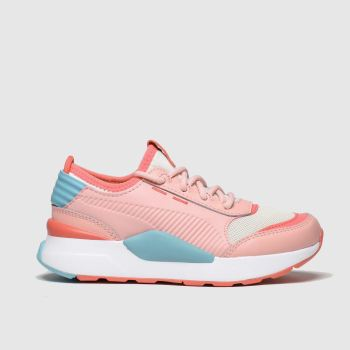 Puma Pink & Blue Rs-0 Smart Girls Junior