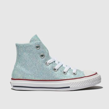 Converse Pale Blue All Star Hi Girls Junior