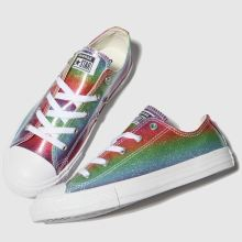 Converse all star lo glitter rainbow 1