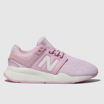 New Balance Pink 247 V2 Girls Junior
