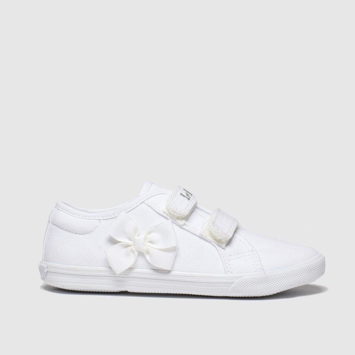 Lelli Kelly White Lily Trainers Junior