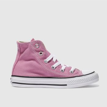 Converse Pink All Star Hi Girls Junior#