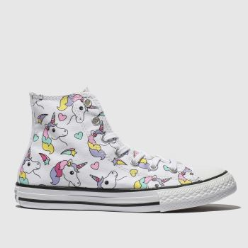 Converse Multi All Star Hi Girls Junior
