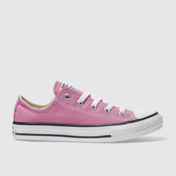 Converse Pink All Star Lo c2namevalue::Girls Junior
