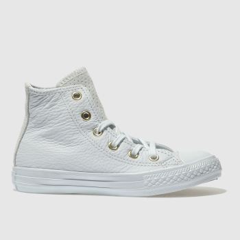 Converse Blue Chuck Taylor All Star Hi Girls Junior