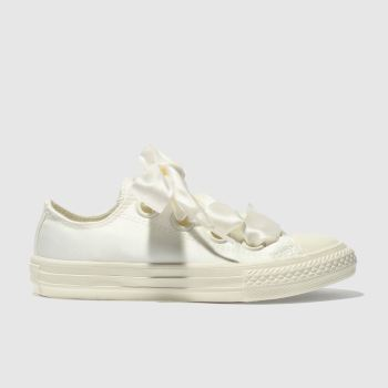 Converse Natural All Star Big Eyelets Lo Girls Junior