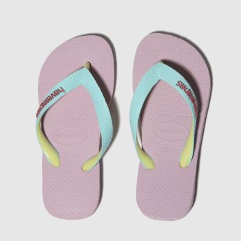 Havaianas Pale Pink Top Mix Girls Junior