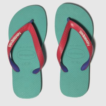 Havaianas Green Top Mix Girls Junior