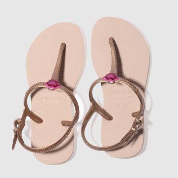 Havaianas Pale Pink FREEDOM SL Girls Junior